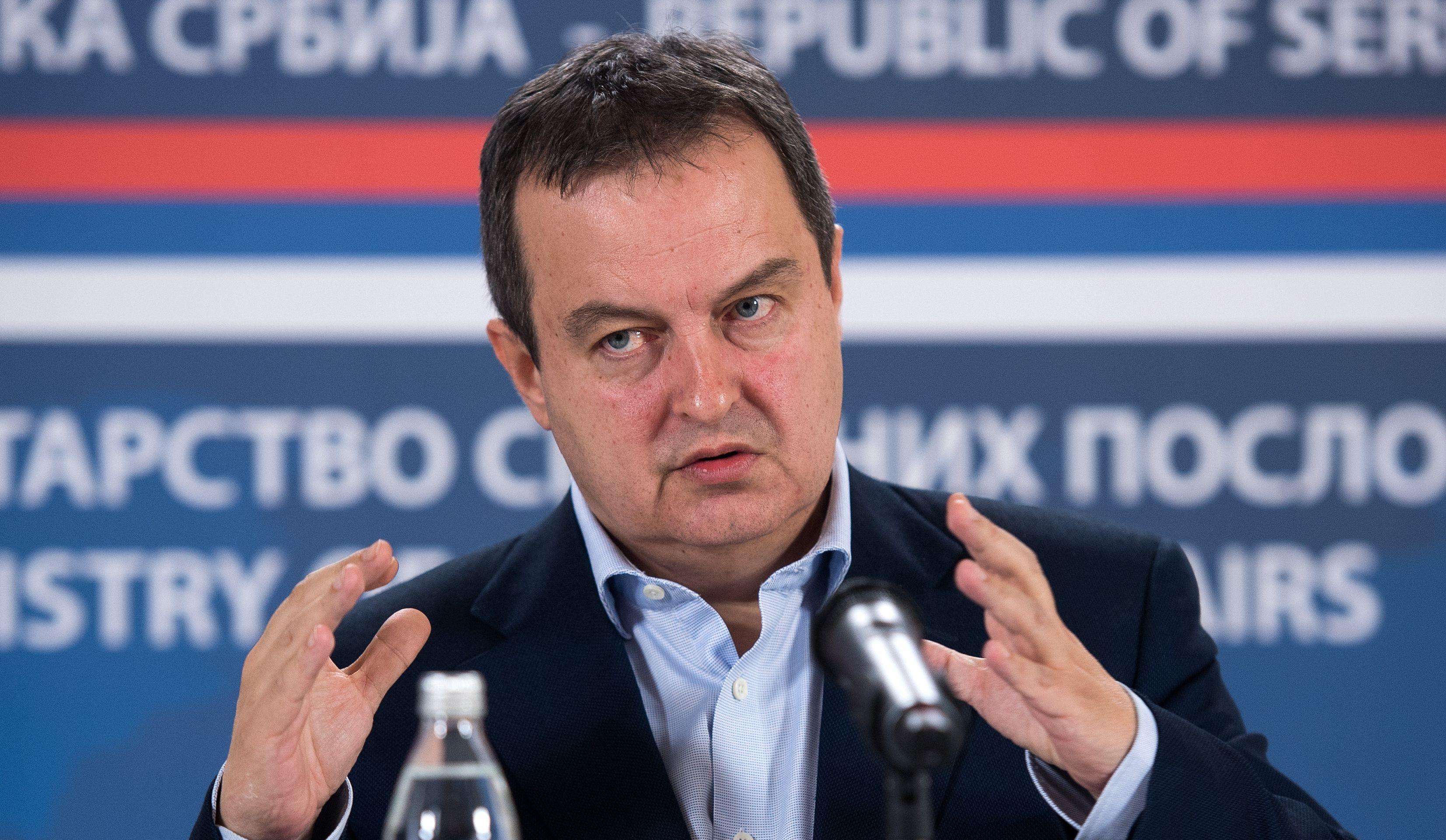 """DAČIĆ """"U interesu i Srbije i Hrvatske je razvijanje dobrih bilateralnih odnosa"""""""