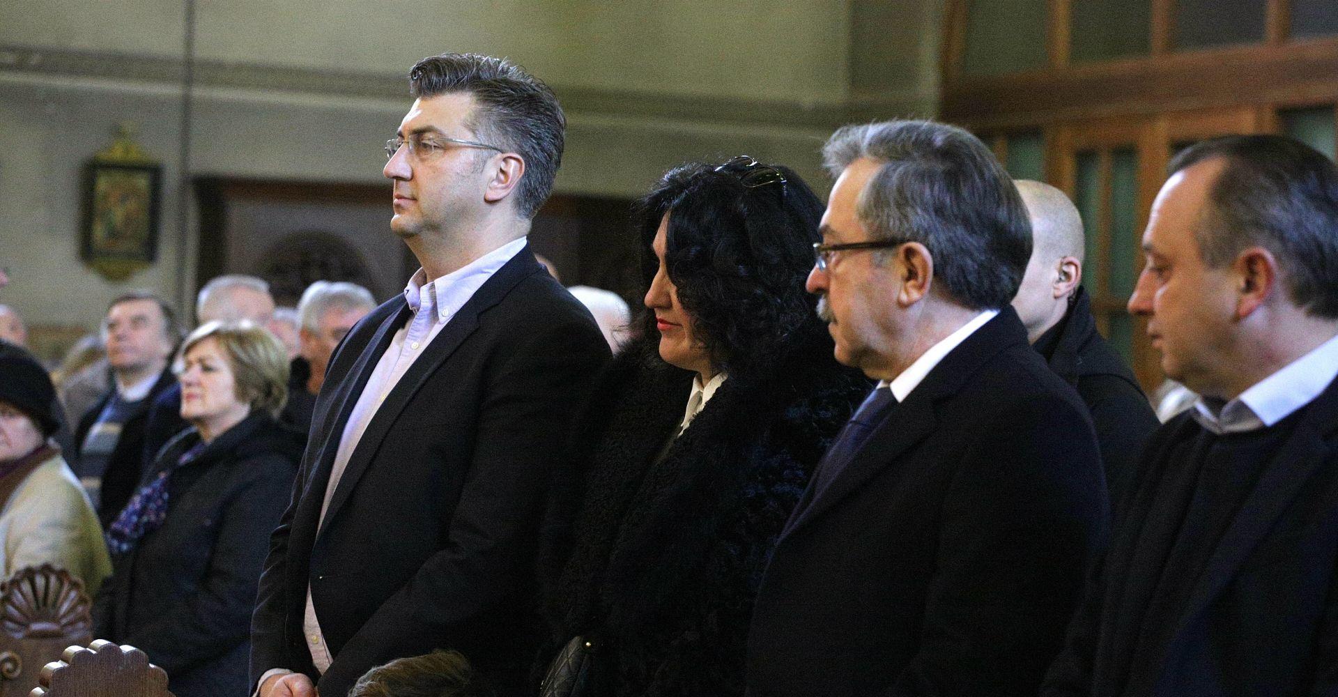 Plenković na obilježavanju blagdana sv. Blaža
