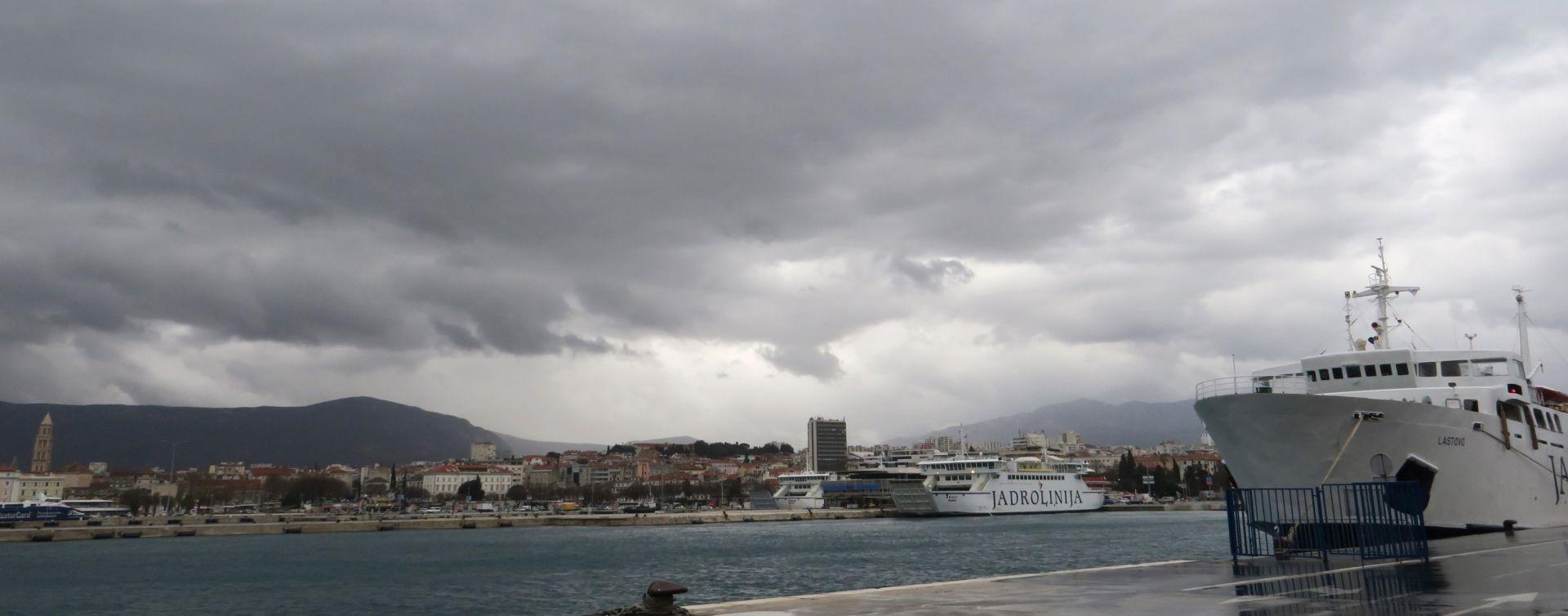 Promjenjivo oblačno vrijeme bez znatnih oborina