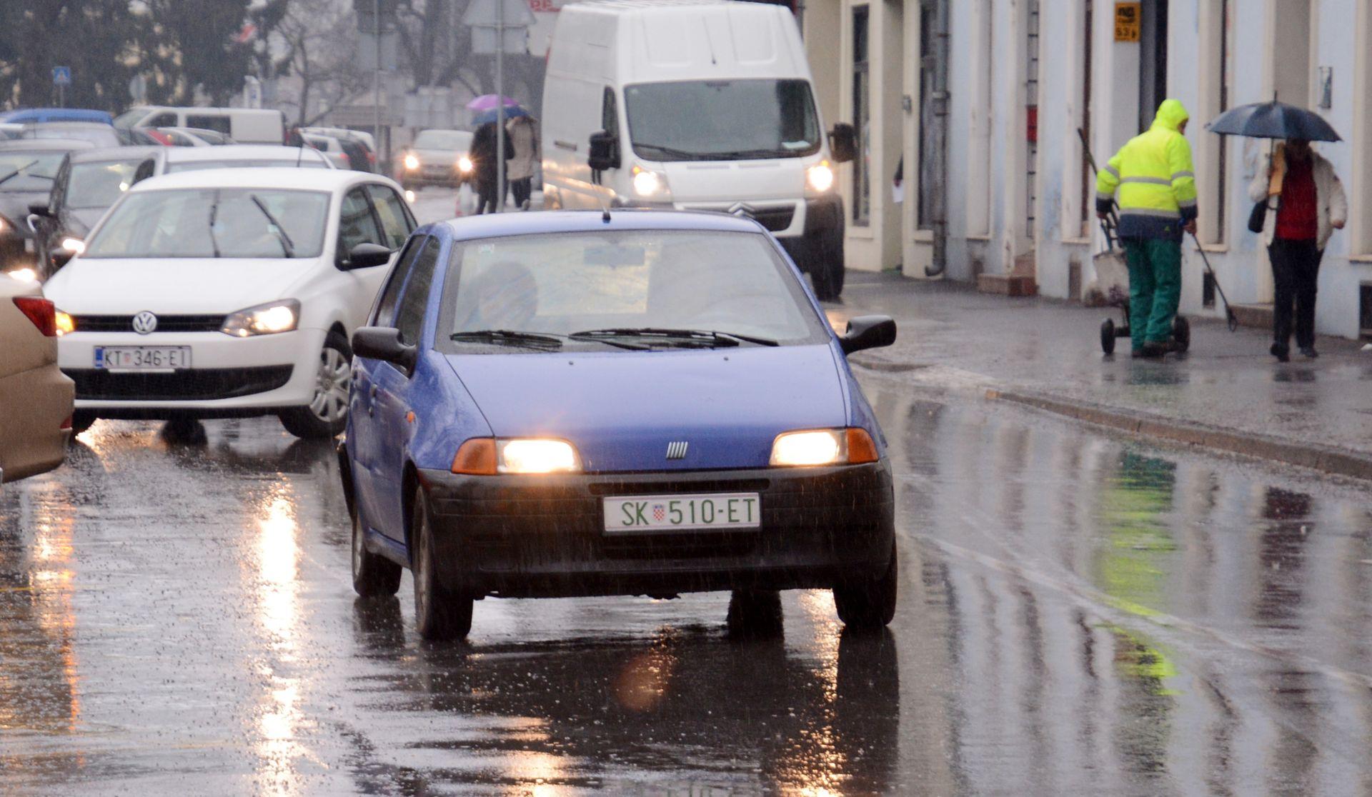 DHMZ: Promjenljivo oblačno povremeno uz kišu
