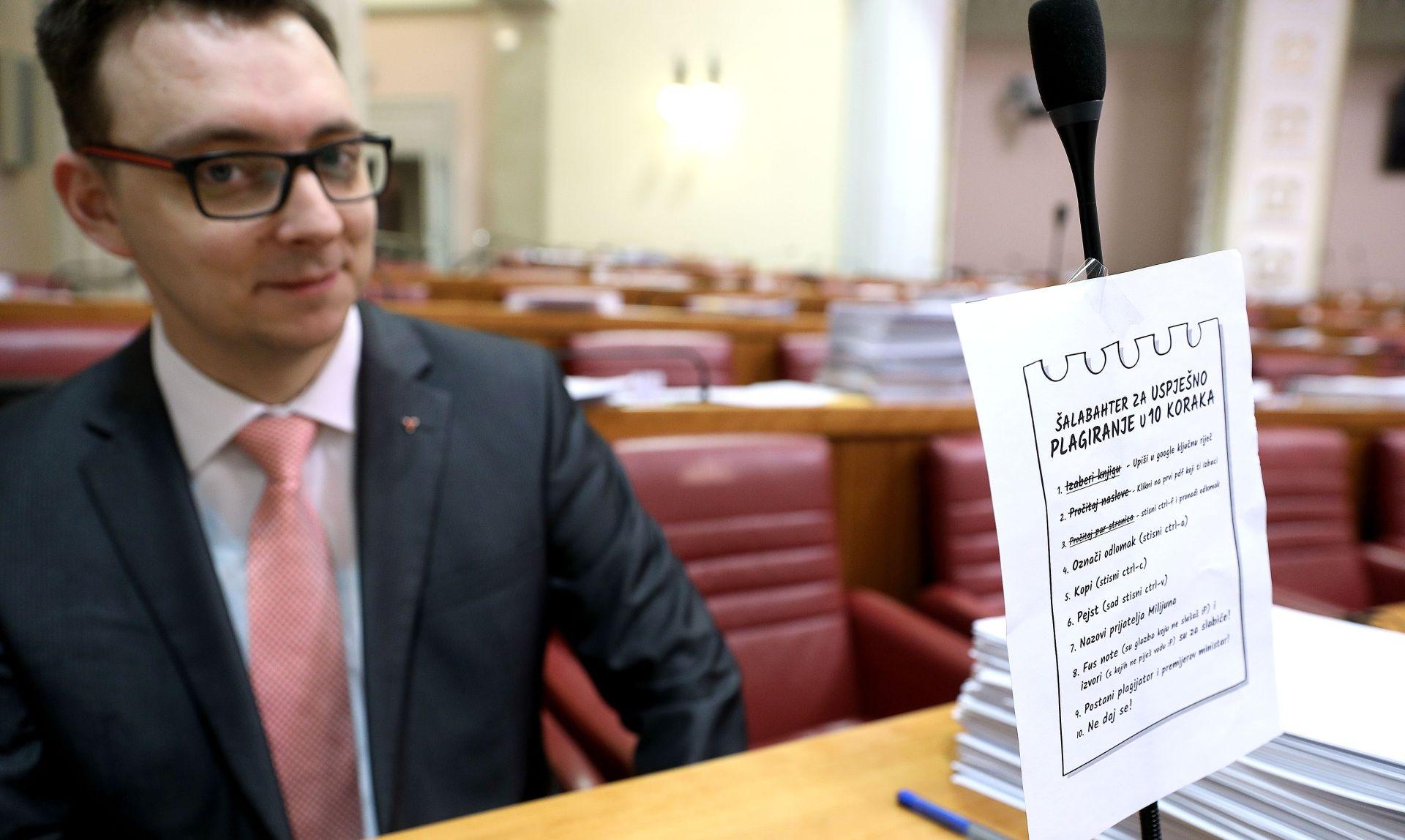 """RASPRAVA O BARIŠIĆU TEK U 15 SATI Glavašević: """"To je ružna finta"""""""