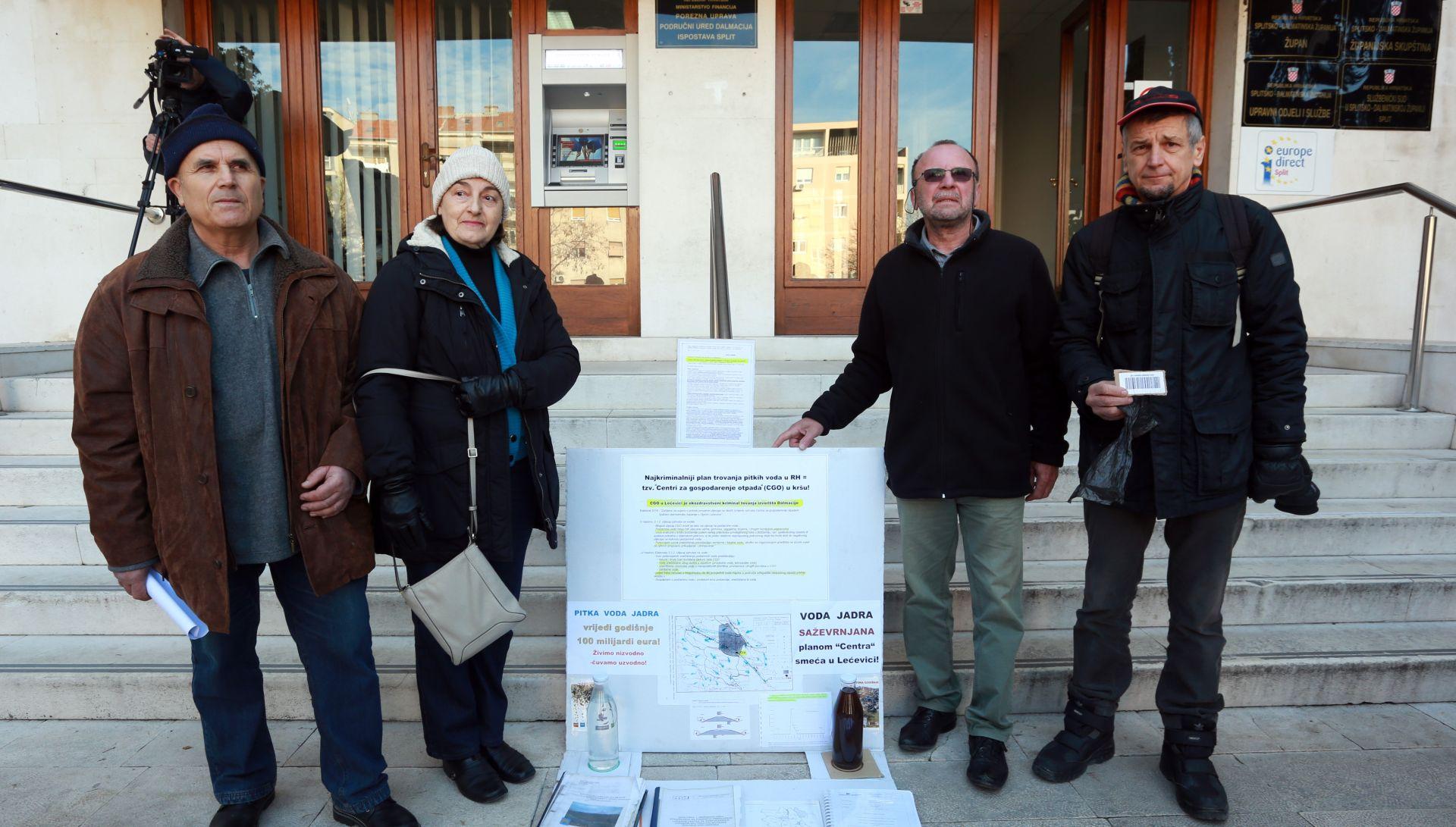Ekološke udruge zbog Lećevice prijavljuju župana i dožupana za pranje novca