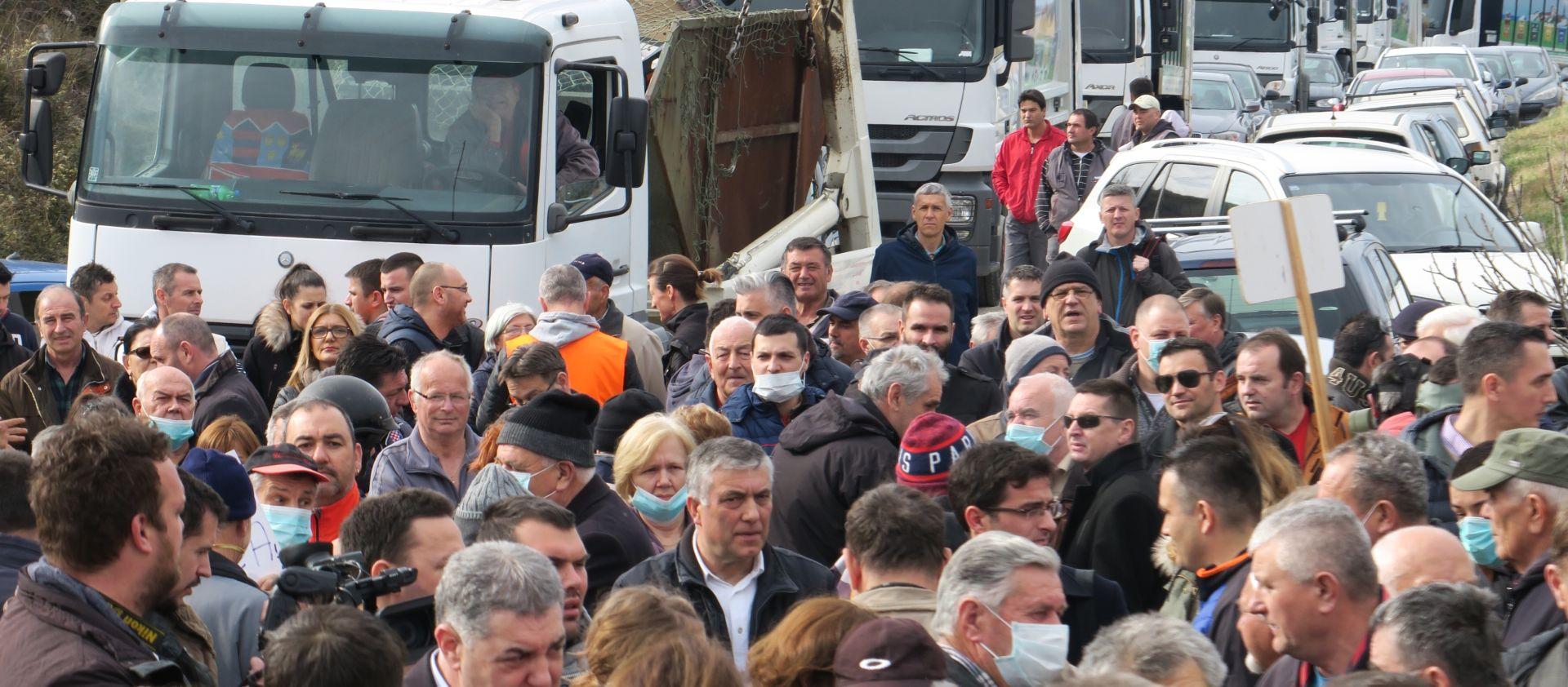 Splićani prosvjedovali zbog Karepovca