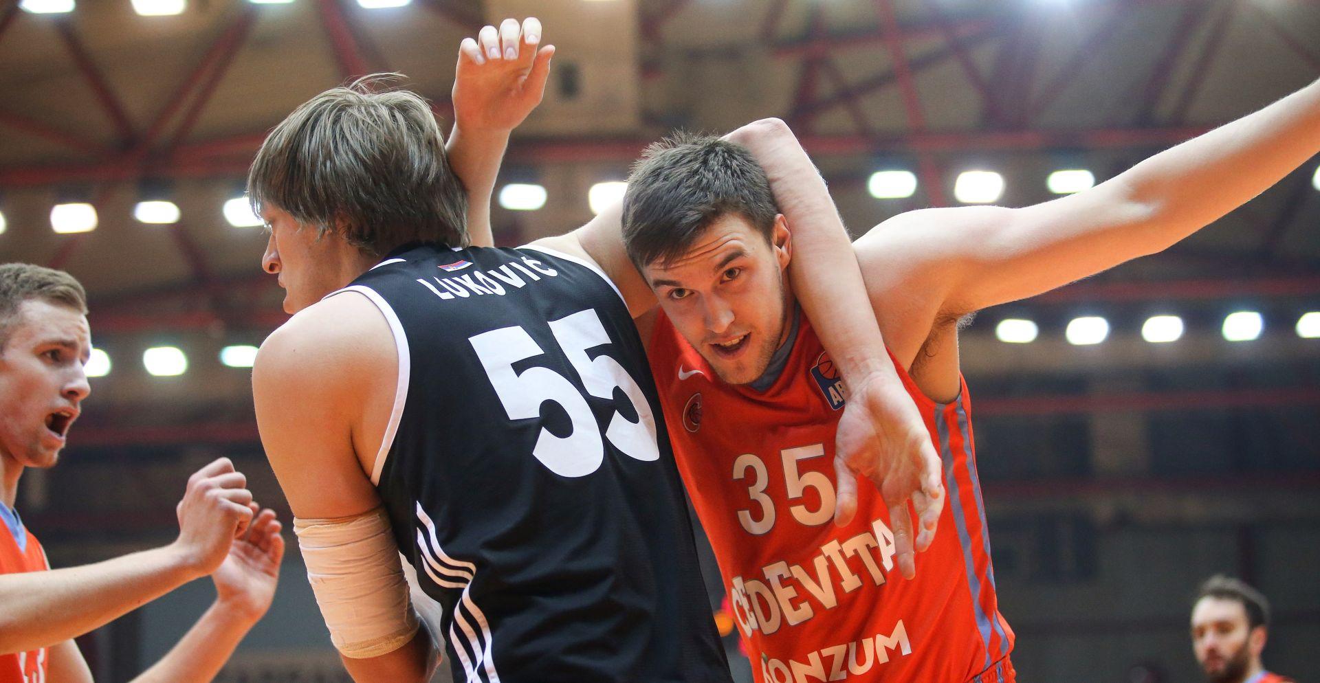 ABA LIGA Cedevita uvjerljiva protiv Partizana