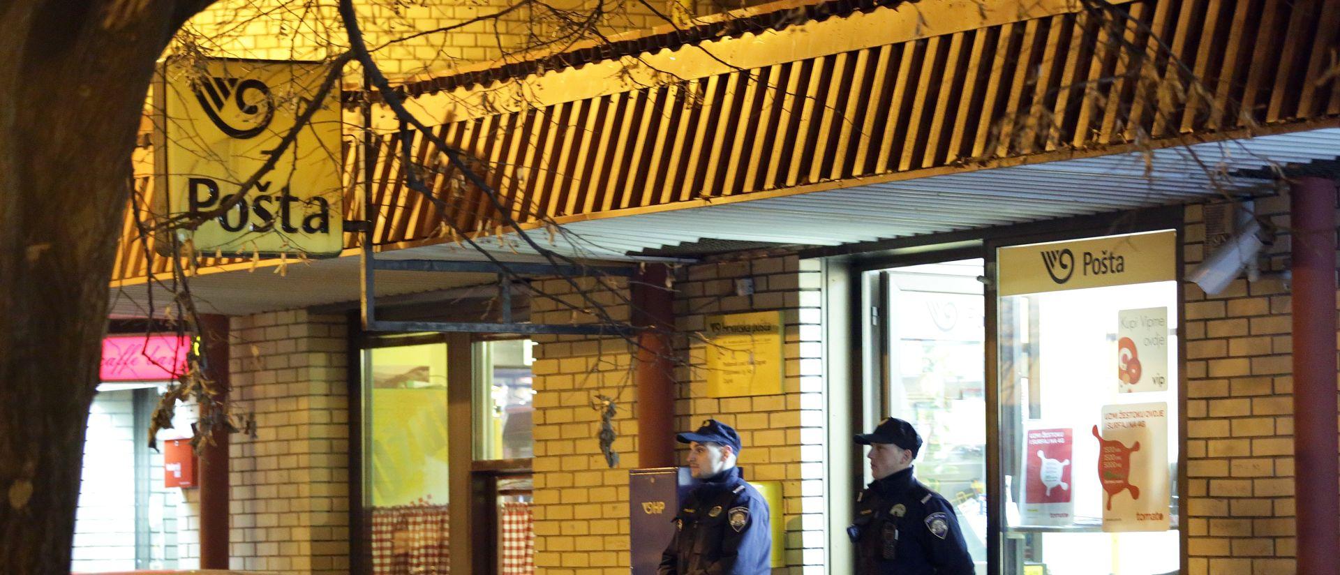 ZAGREB Pod prijetnjom vatrenim oružjem opljačkao poštu