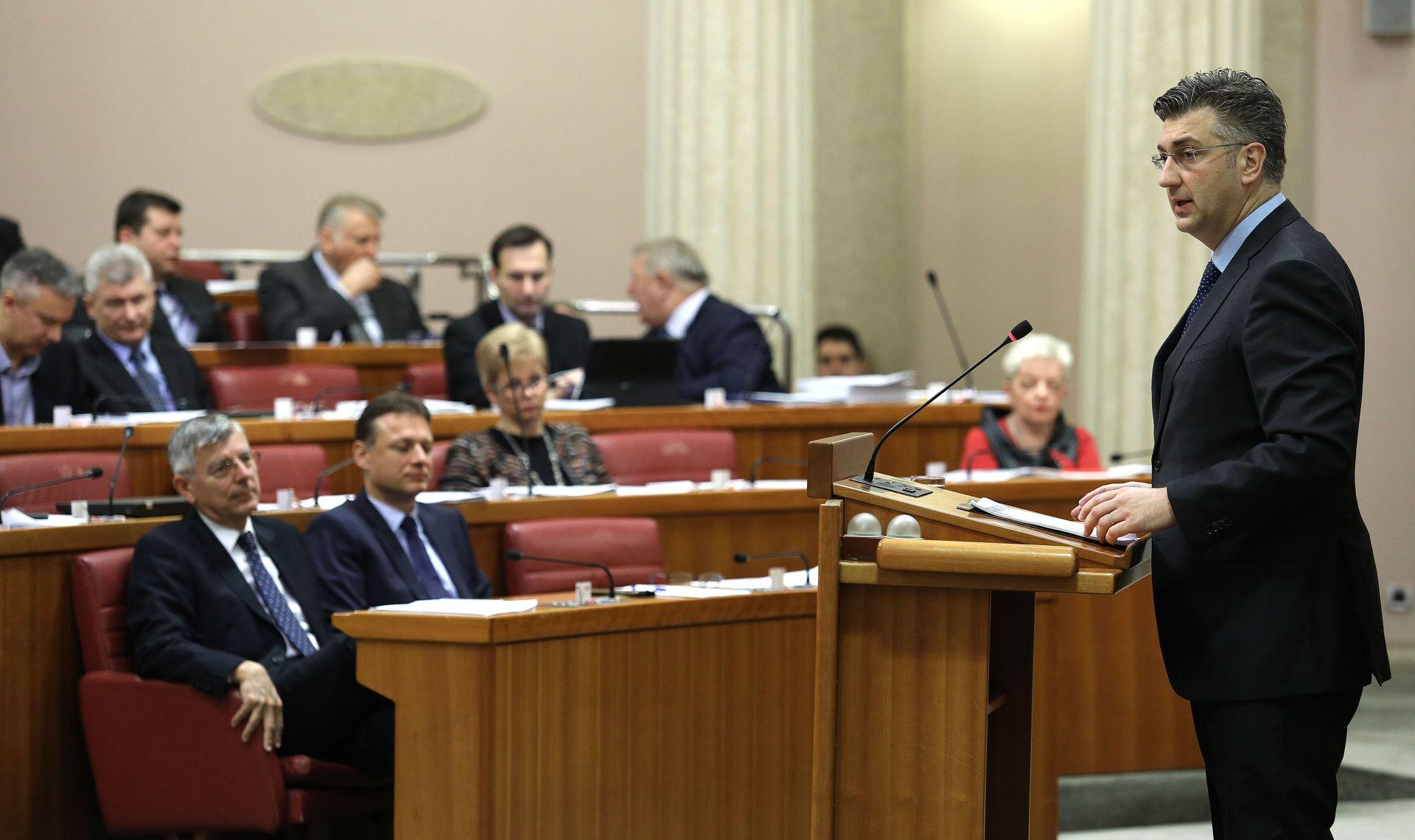 Hrvatski sabor u petak o liberalizaciji tržišta plina