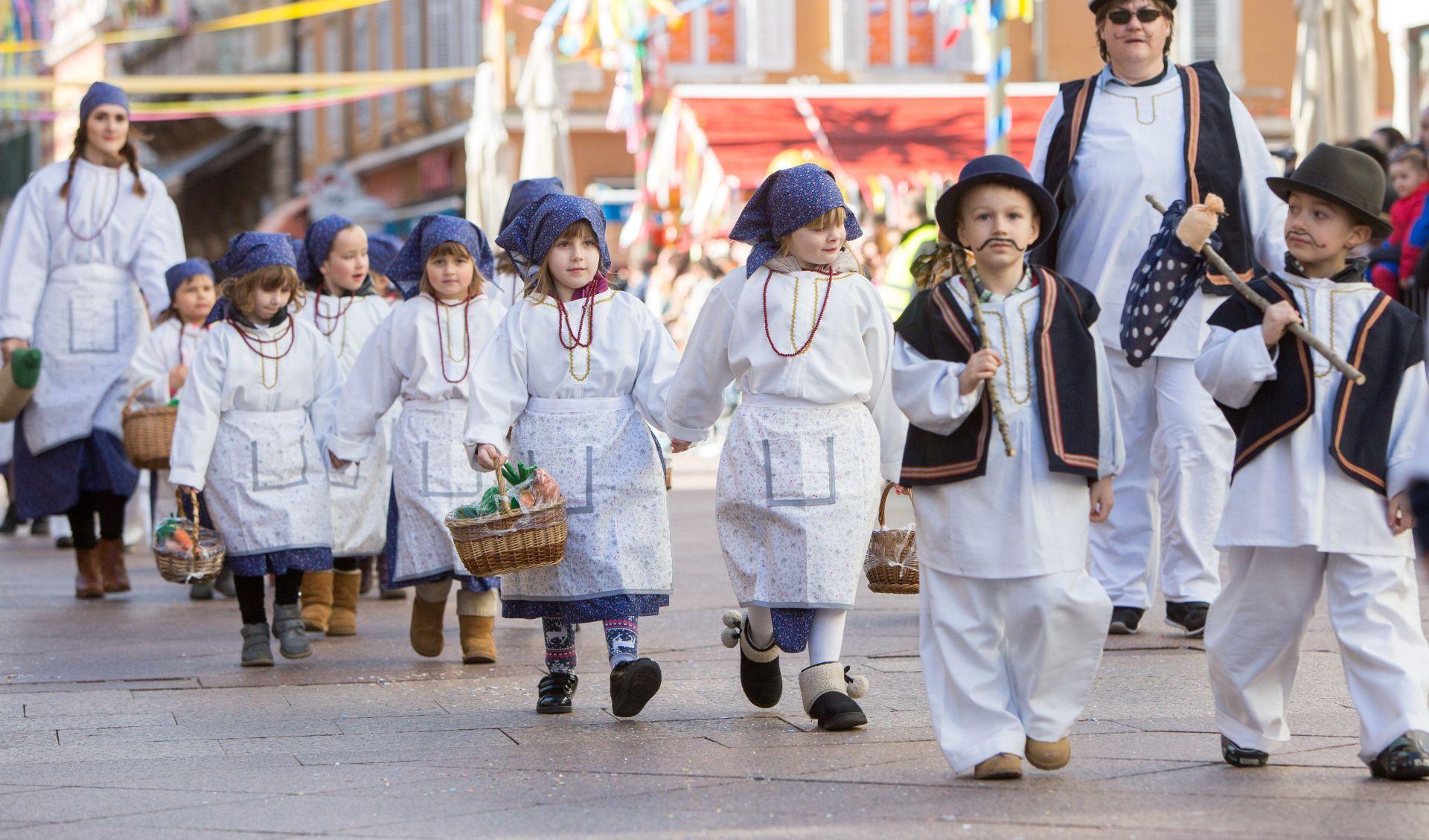 U Rijeci Dječja karnevalska povorka s 4500 maškarica