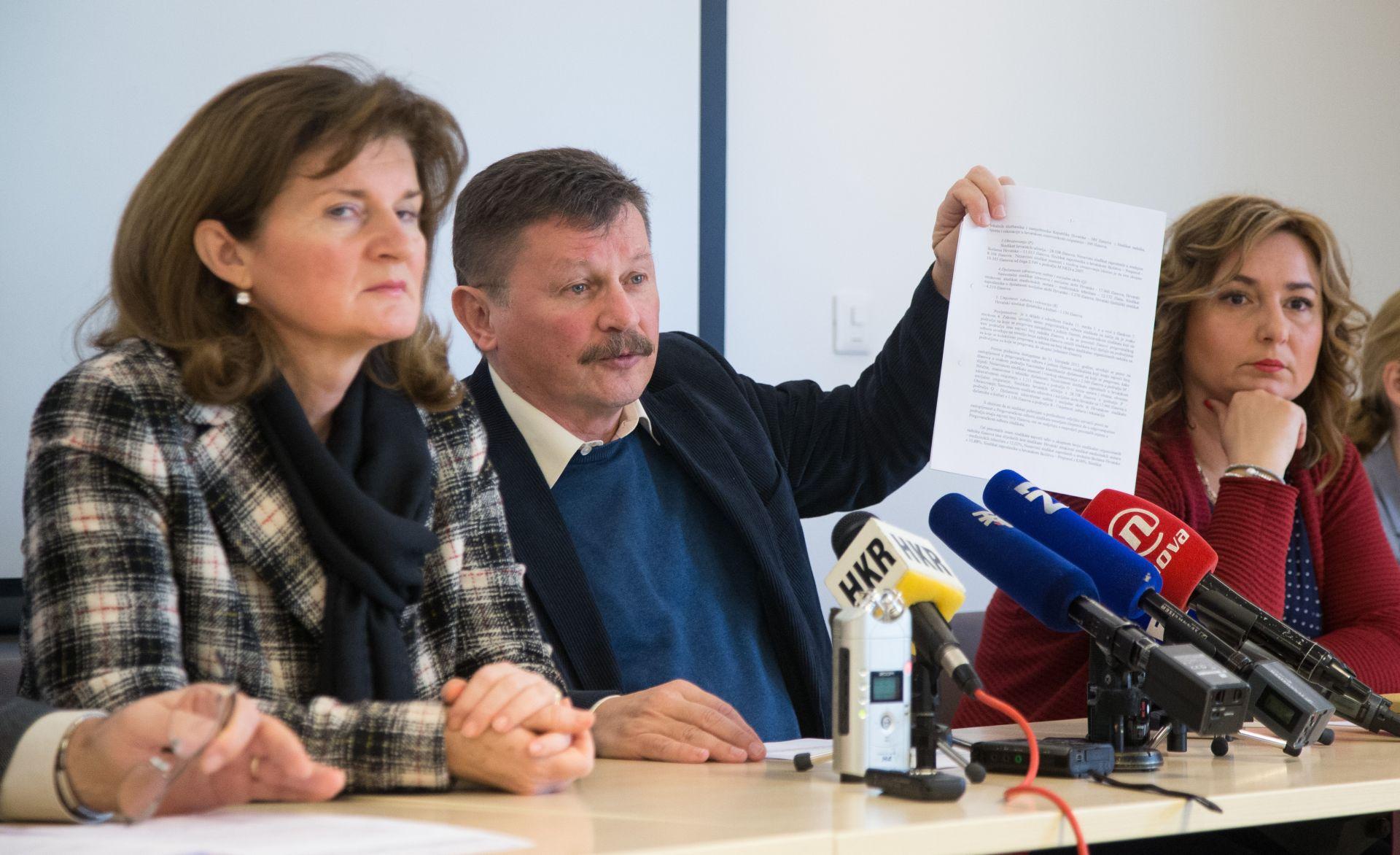 RIBIĆ 'S Preporodom vlast pokušava oslabiti sindikalnu poziciju'