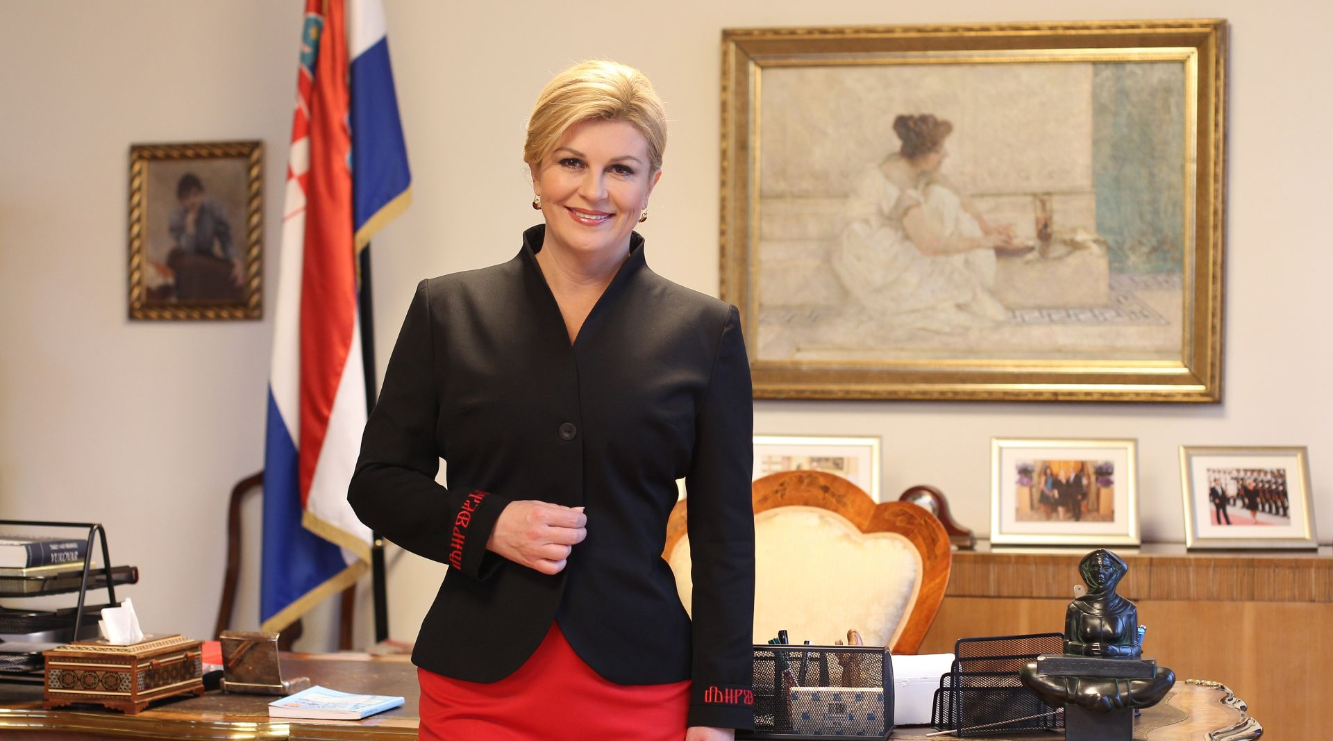 Grabar-Kitarović pozvala stranke na Pantovčak