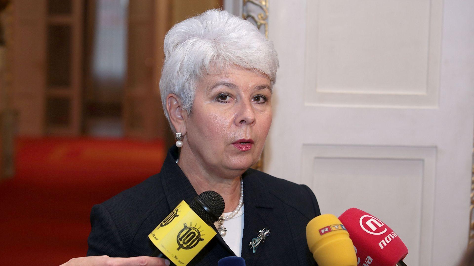 JADRANKA KOSOR 'Nisam siguna koliko ovaj ruski rulet može donijeti, a koliko odmoći Plenkoviću'