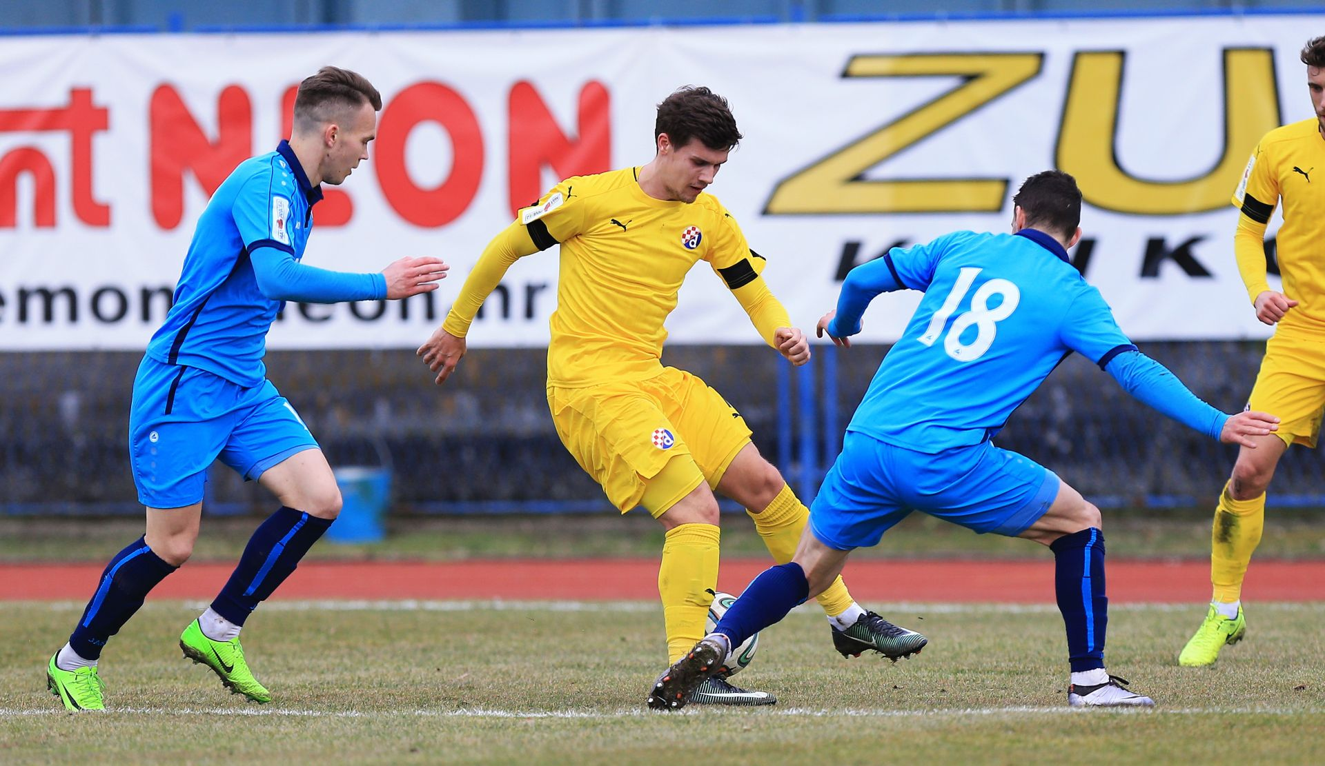 HNL Dinamo do sva tri boda iz dvojbenog penala u 90. minuti