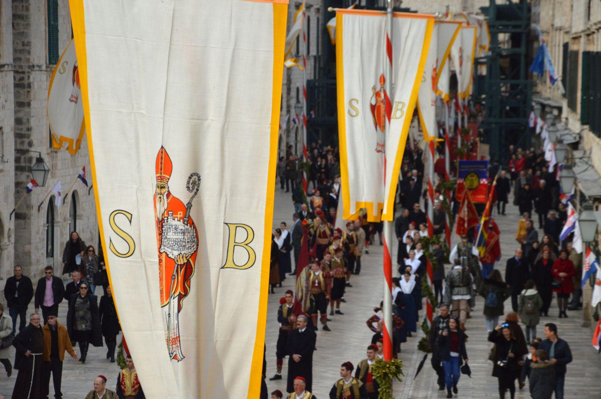 Dubrovnik slavi Festu svetog Vlaha