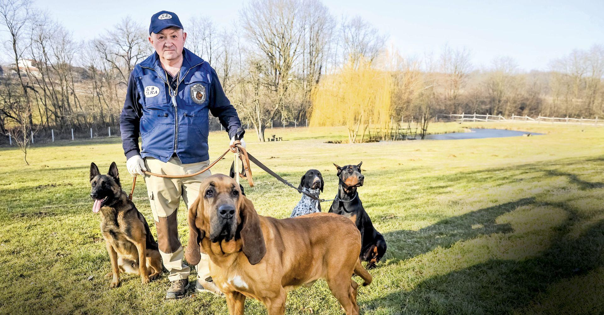 'Prvi u Hrvatskoj obučavam pse za rano otkrivanje raka'