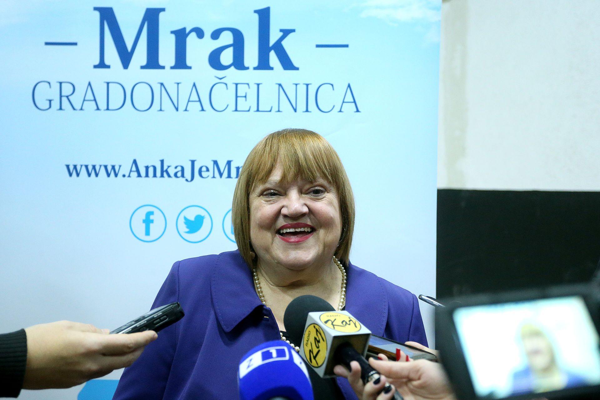 SDP će na izborima u Zagrebu podržati Anku Mrak Taritaš