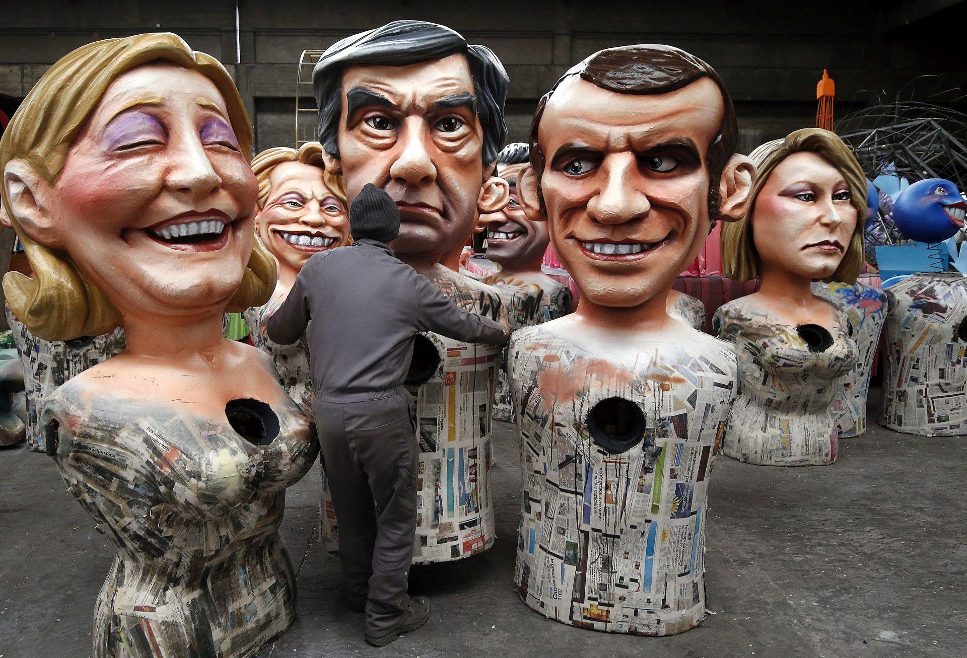 PREDSJEDNIČKI IZBORI: Fillon prestigao Macrona u anketama