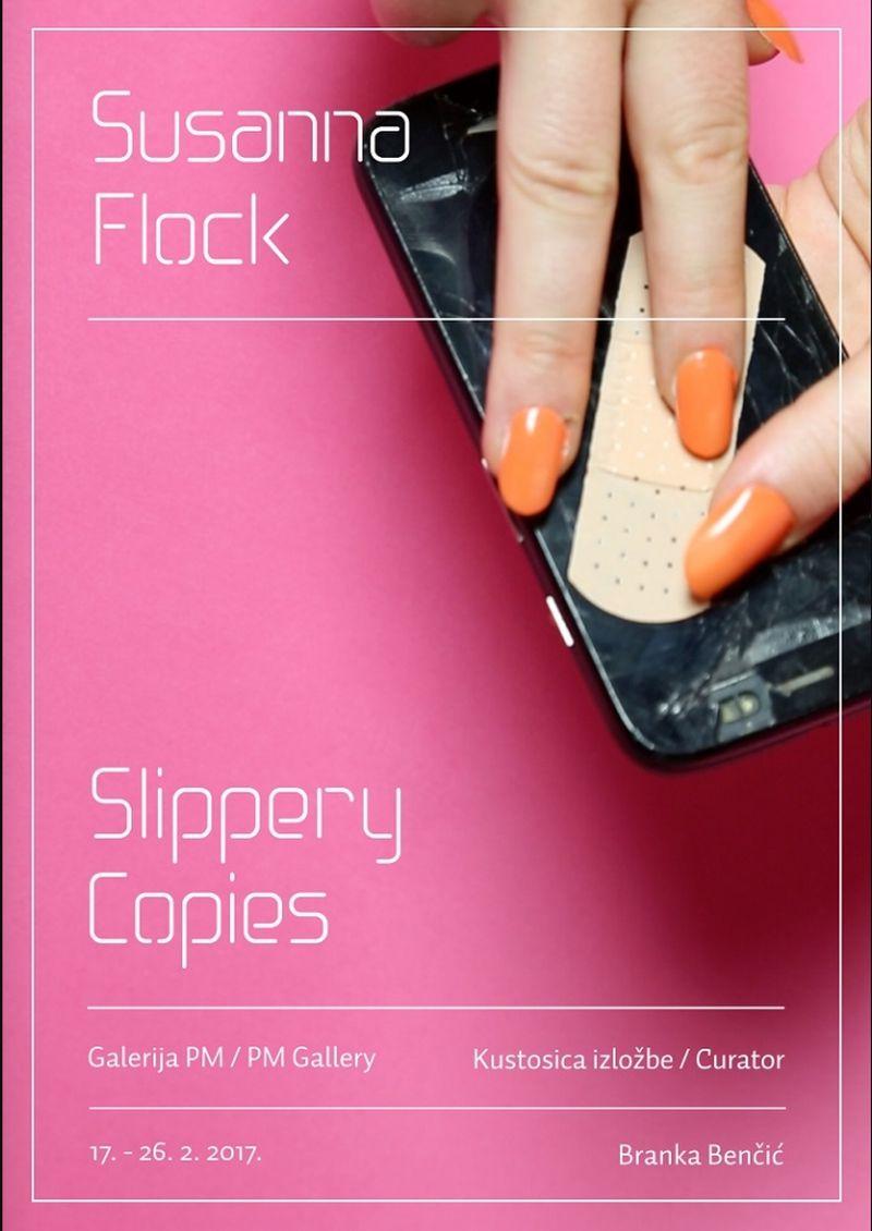 "Izložba ""Slippery Copies"" Susanne Flock u HDLU"