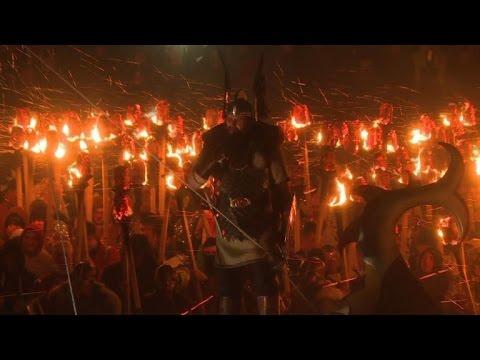 VIDEO: Posjetimo vikinški festival 'Up Helly Aa'