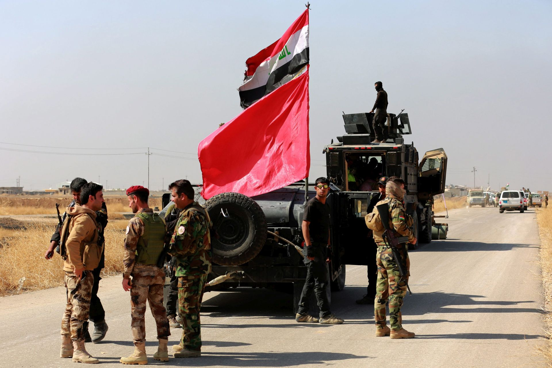 PREUZIMANJE KONTROLE: Iračke snage napreduju u zapadnom dijelu Mosula