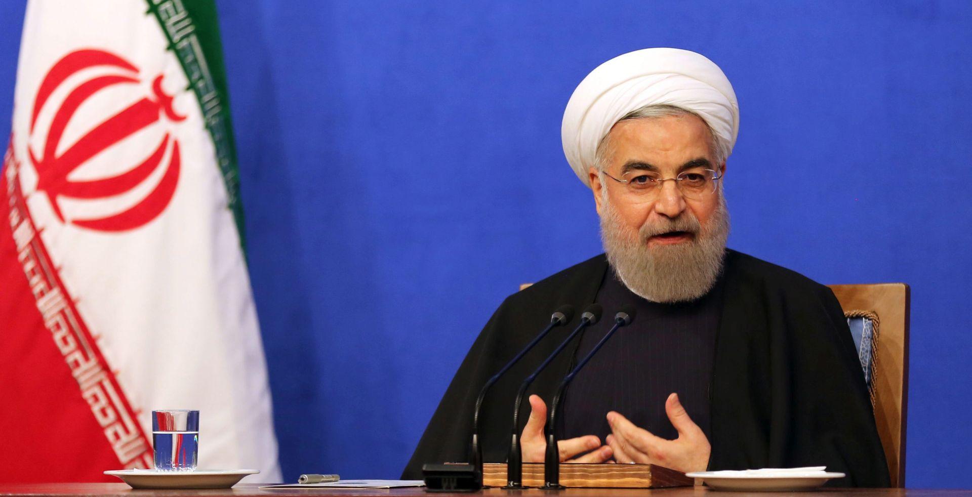 BOLJI DIPLOMATSKI ODNOSI: Rouhani u Perzijskom zaljevu kako bi otklonio nesporazume