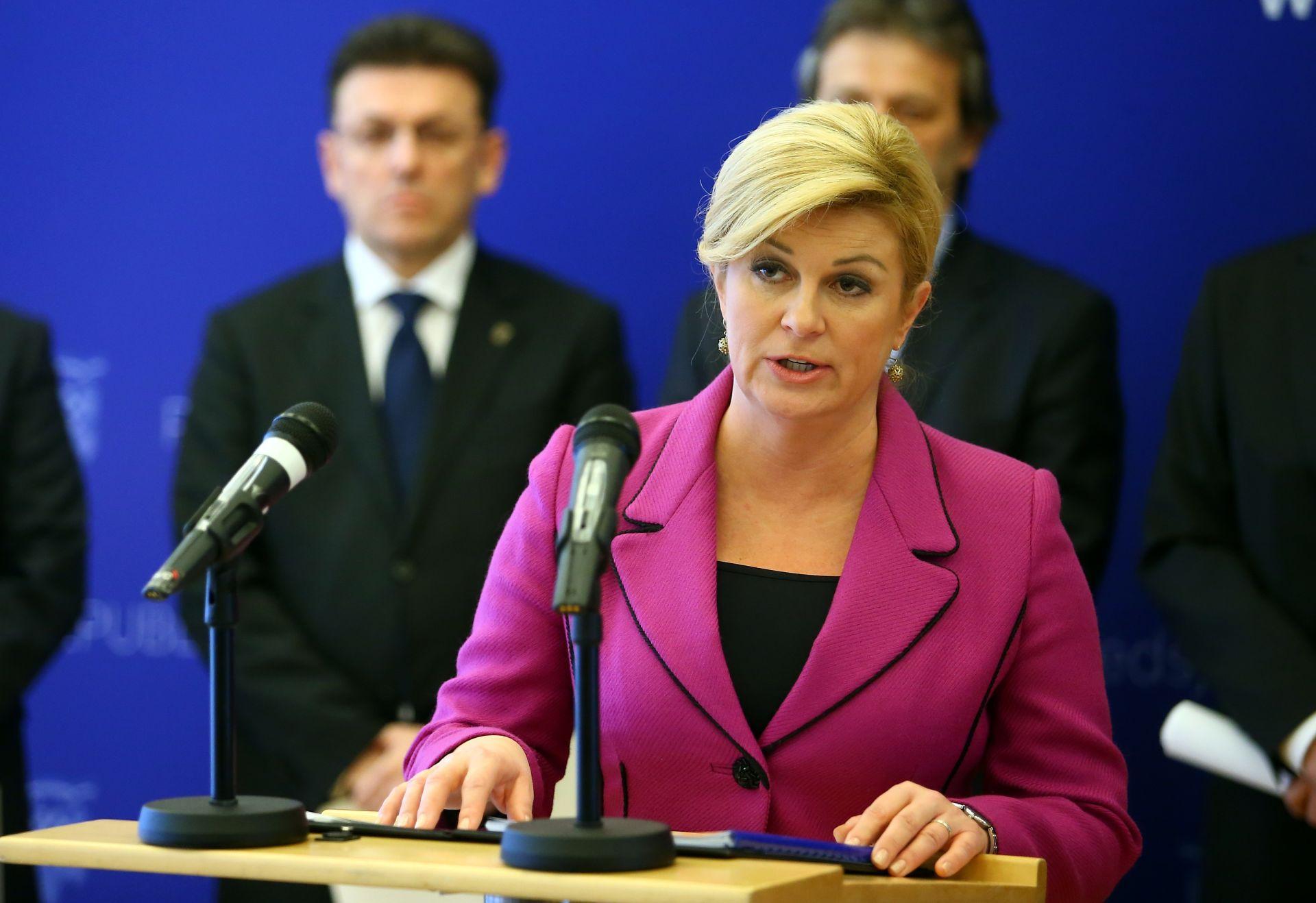 AFERA DNEVNICE Grabar-Kitarović: 'Neka DORH radi svoj posao'