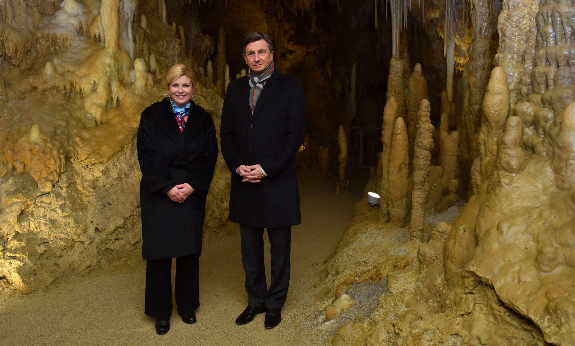 Sastanak predsjednice Grabar-Kitarović sa Pahorom