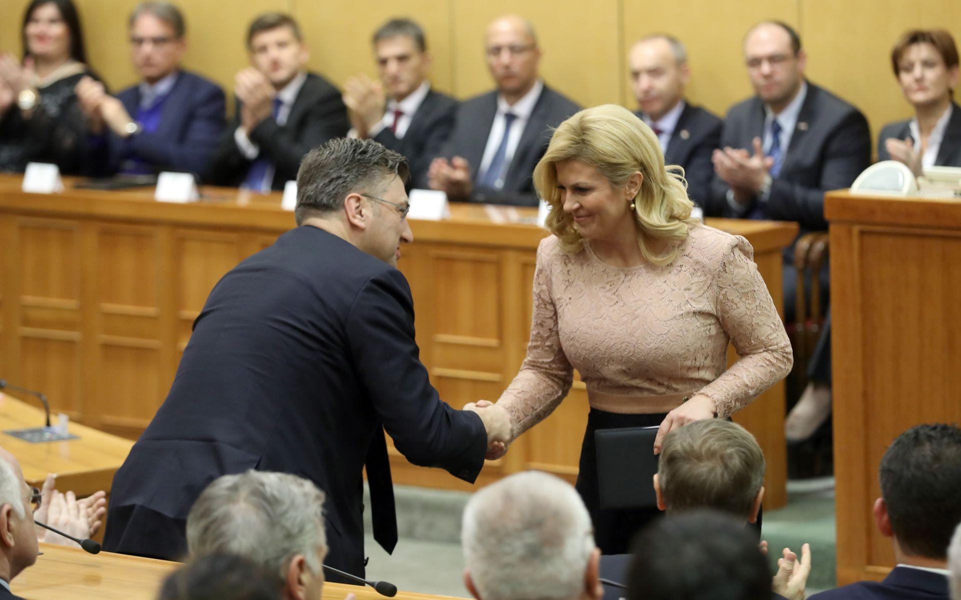 PLENKOVIĆ: Očitovanje o smještaju Ureda predsjednice još nije došlo u Vladu