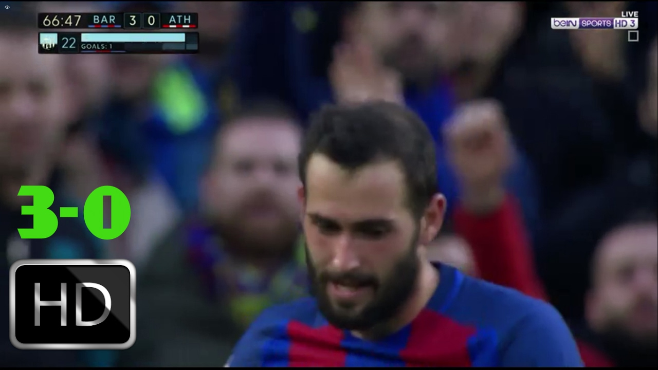 VIDEO: PRIMERA Barcelona slavila protiv Athletica, Rakitiću 36 minuta