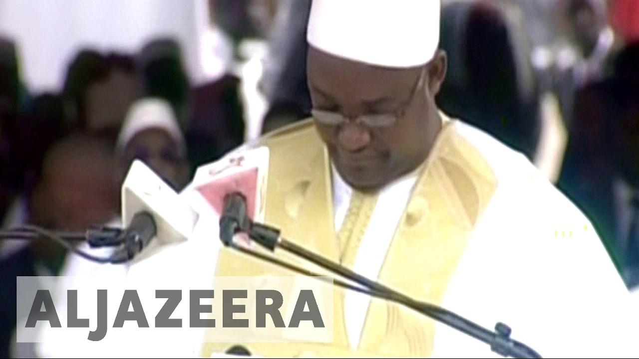 VIDEO: Adama Barrow prisegnuo za predsjednika Gambije