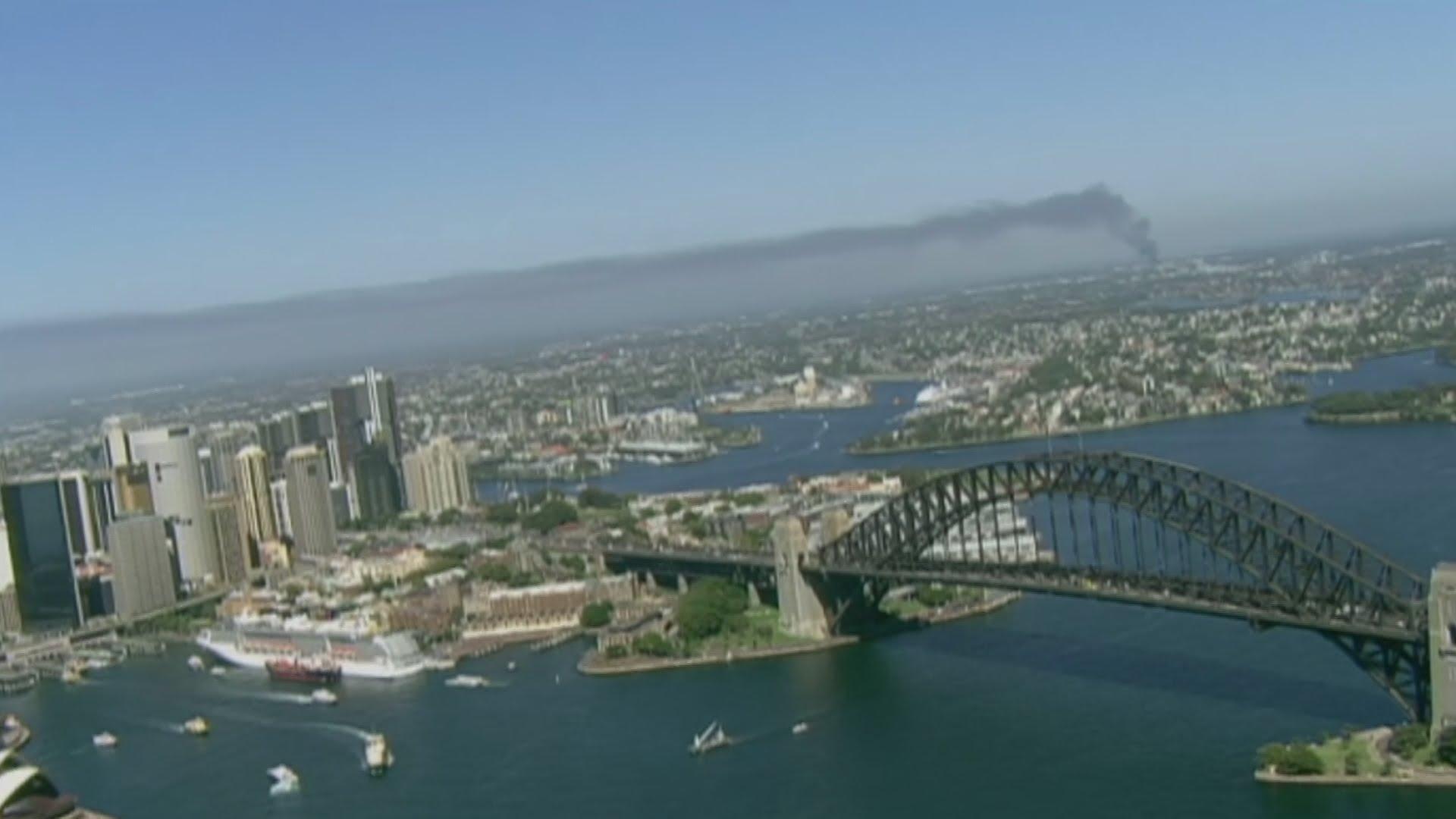 VIDEO: Veliki požar u predgrađu Sydneya