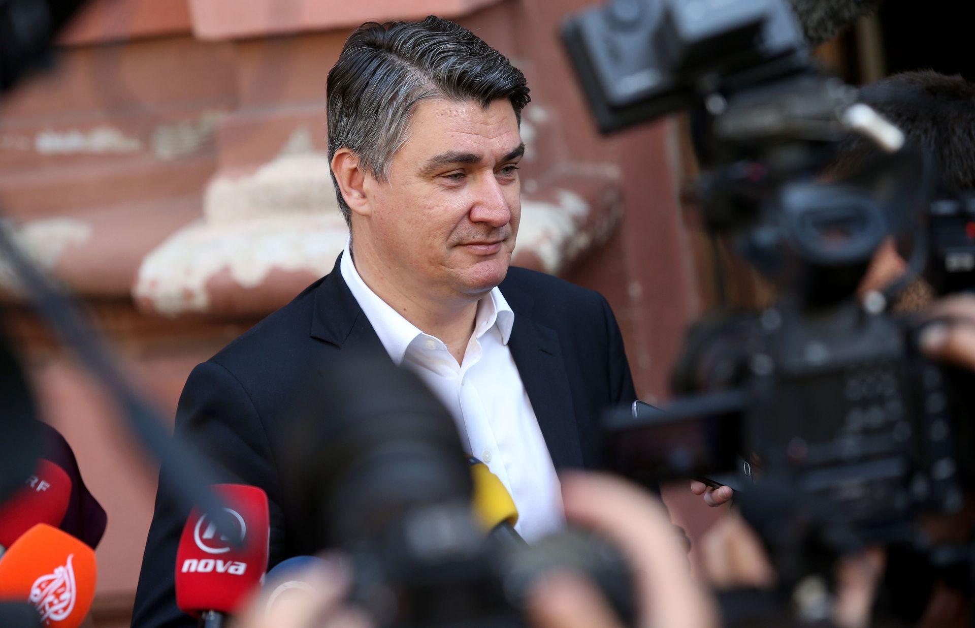 Milanović: Vlada čini sve što može po pitanju arbitraže. U SDP se ne vraćam