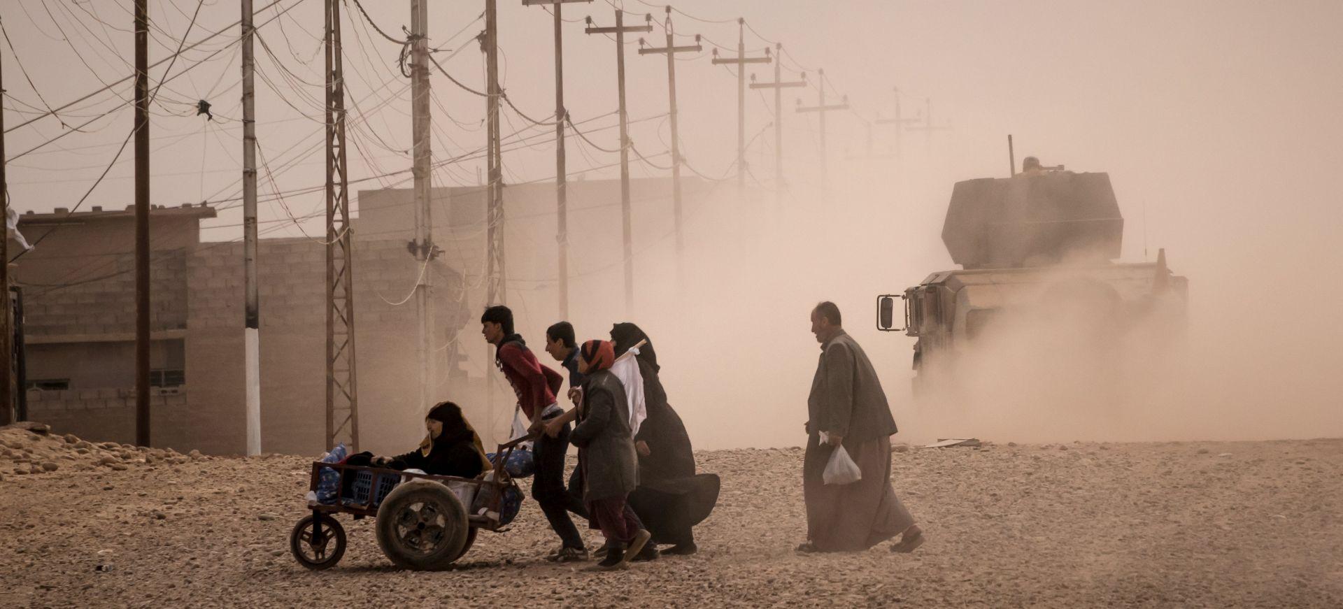 Civili počeli bježati iz zapadnog Mosula