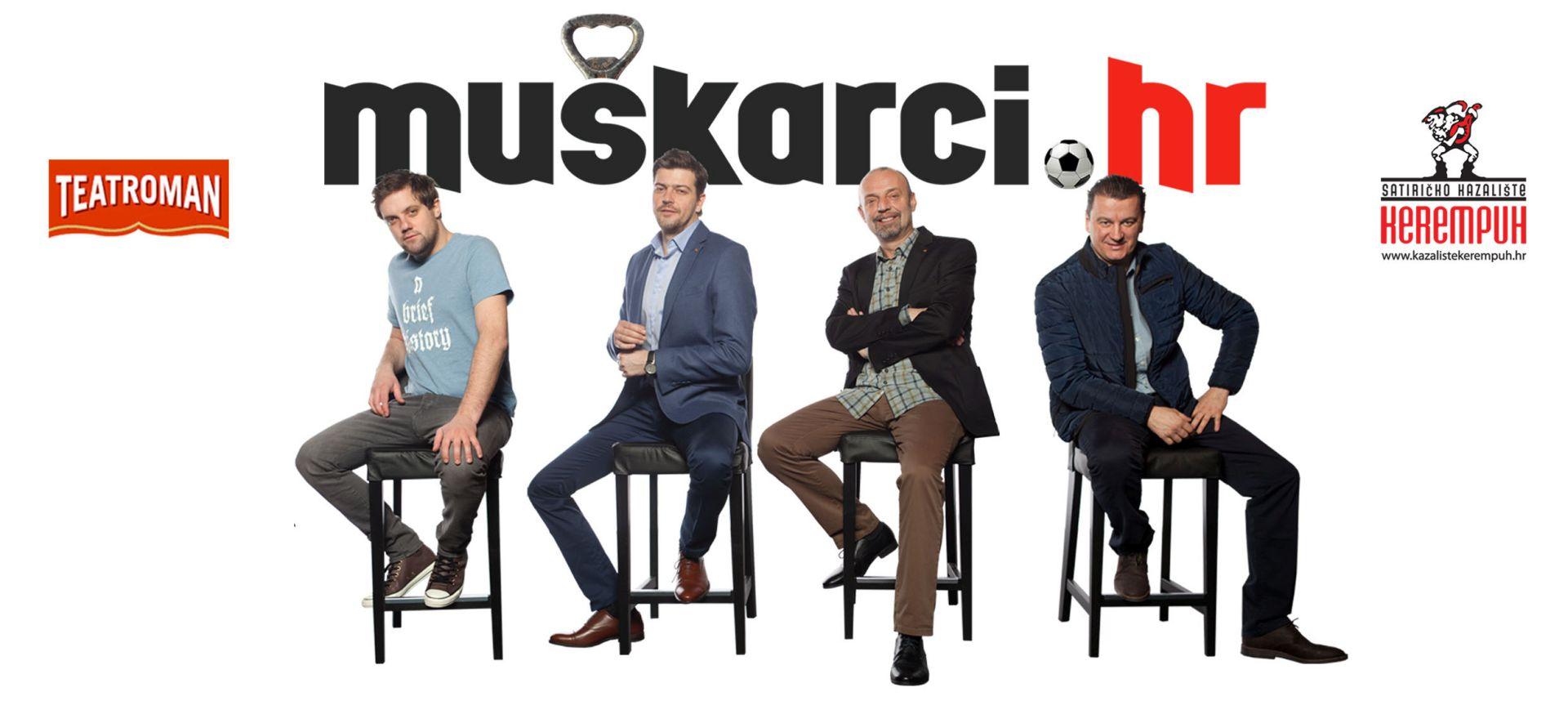 """""""Muškarci.hr"""" u nedjelju premijerno na Sceni Vidra"""