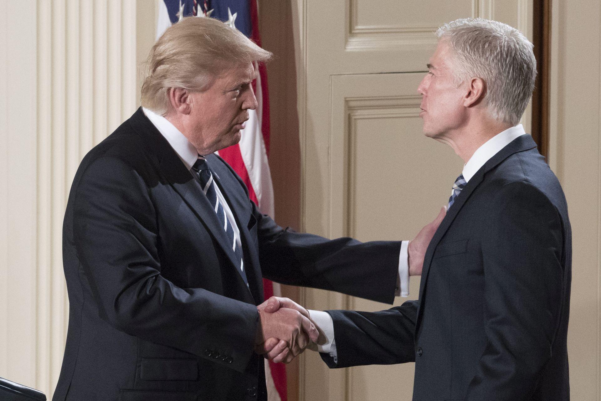 Trump nominirao konzervativca Gorsucha za Vrhovni sud
