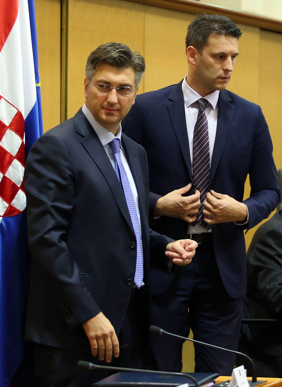 UVOĐENJE VOJNE OBUKE: Plenković i Petrov nisu služili vojni rok