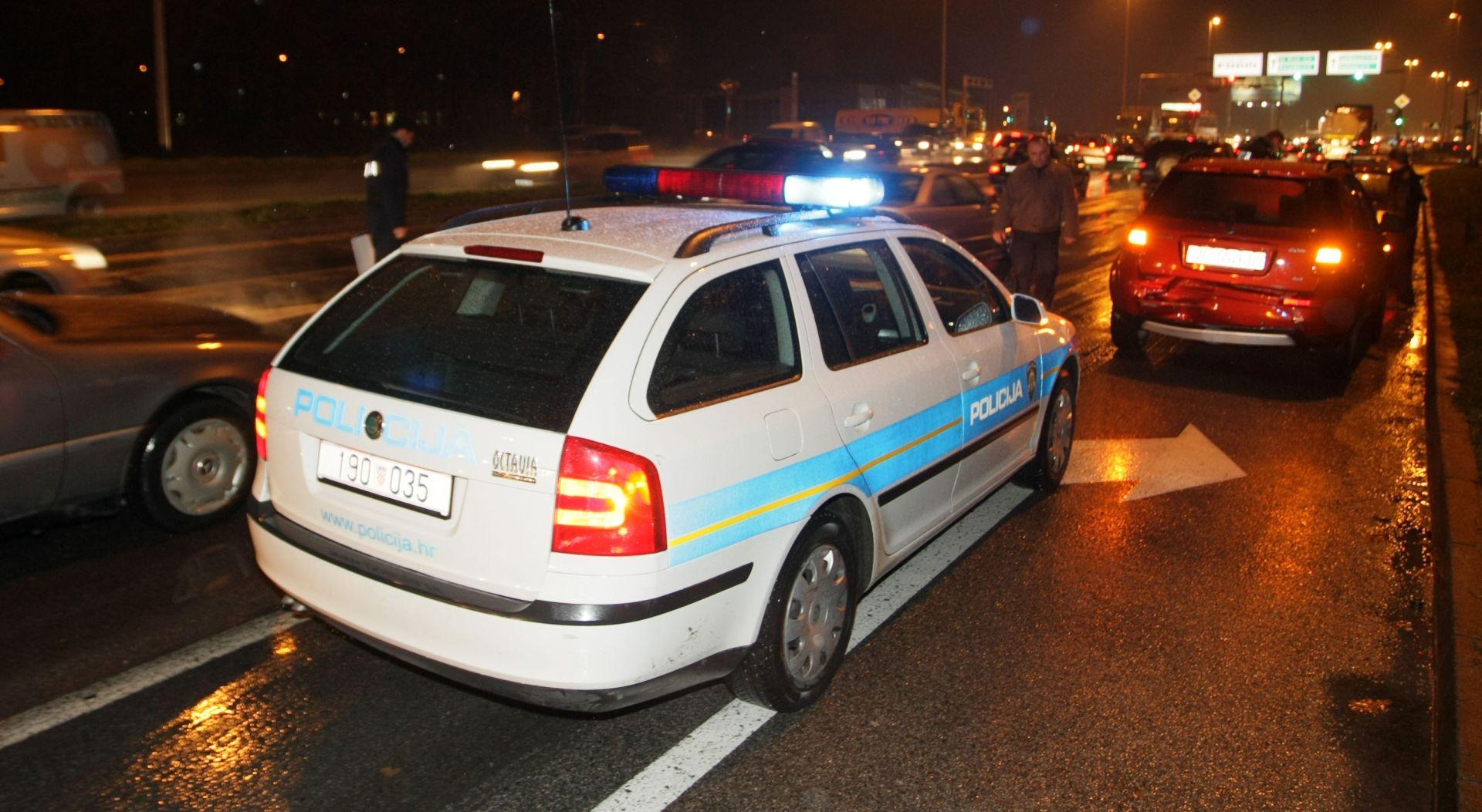 PROMETNA NESREĆA: Lančani sudar u Zagrebu, tri osobe ozlijeđene