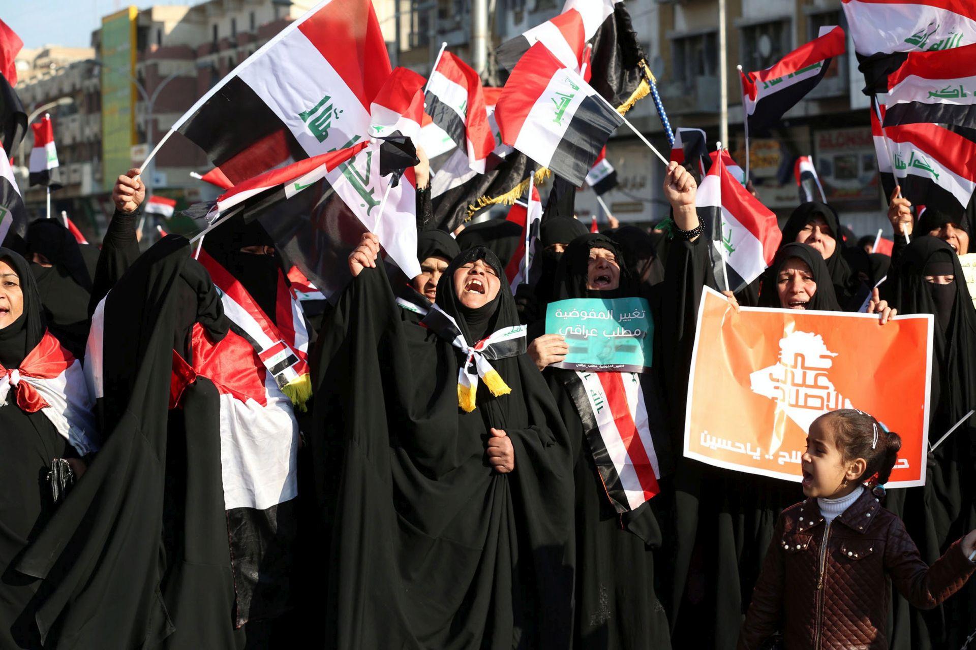 NASILNI PROSVJEDI: U Bagdadu sedmero mrtvih i deseci ozlijeđenih