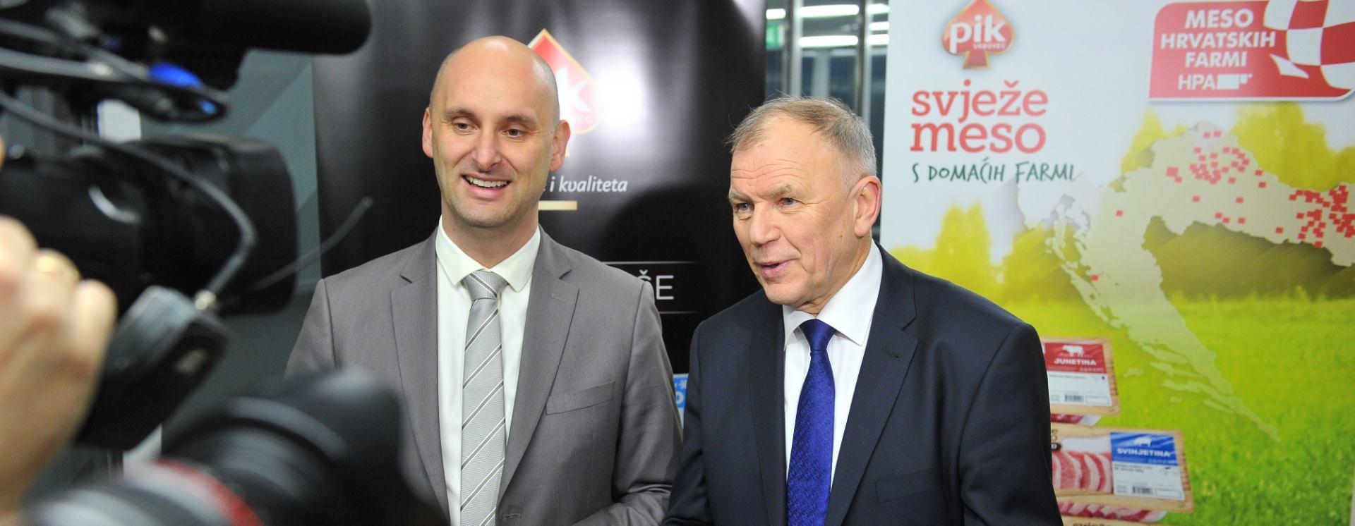 PIK VRBOVEC Europski povjerenik Vytenis Andriukaitis i ministar Tomislav Tolušić obavili radni posjet