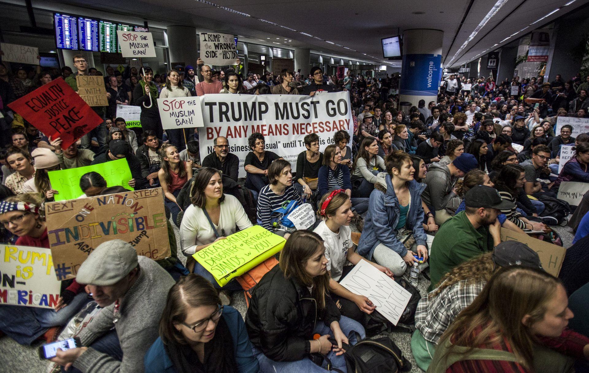 ZABRANA ULASKA U SAD: Odluka o Trumpovoj uredbi ovaj tjedan