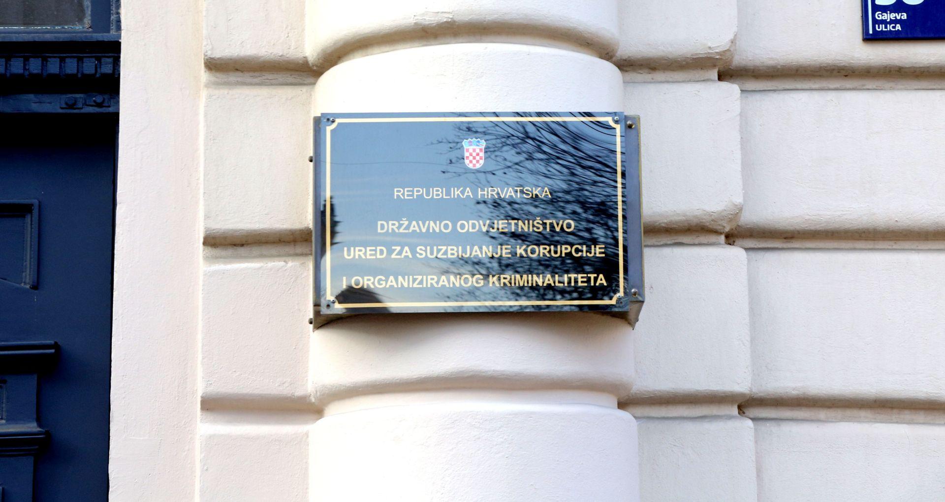 AKCIJA USKOK-a: U Zagrebu uhićeno više osoba zbog korupcije