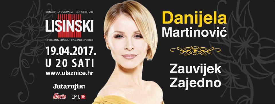 KD LISINSKI Mnogo iznenađenja na koncertu Danijele Martinović