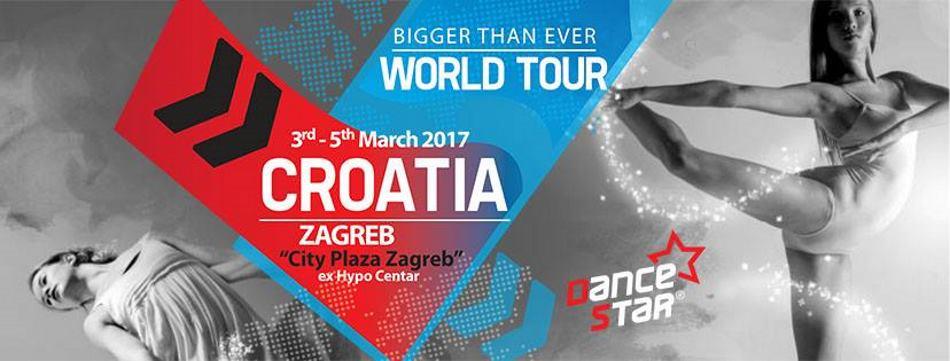 DANCESTAR Hrvatski plesni projekt u Grad Zagreb privukao više od dvije tisuće sudionika