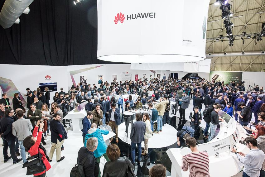 Huawei experience area
