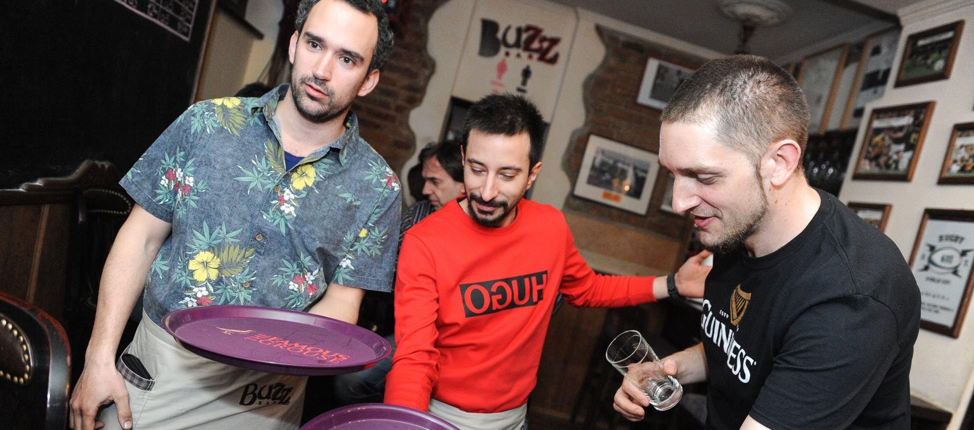 FOTO: Asim Ugljen i Marko Cindrić u Buzzu prikupili sredstva za humanitarnu akciju
