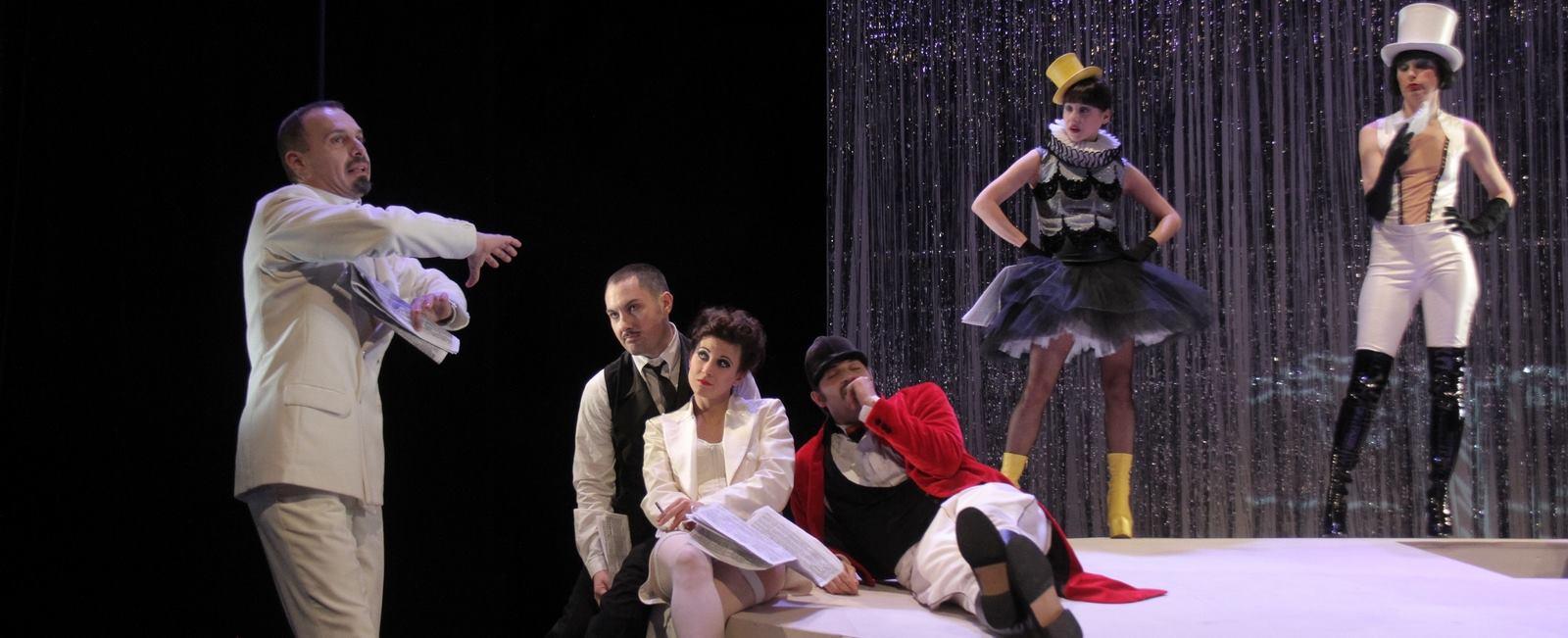 FOTO: CABARET D'ANNUNZIO Novi projekt ansambla Talijanske drame o životu kontroverzne povijesne figure