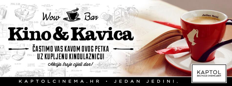 Bogat filmski i glazbeni program kina Kaptol Boutique Cinema zasladite kavom