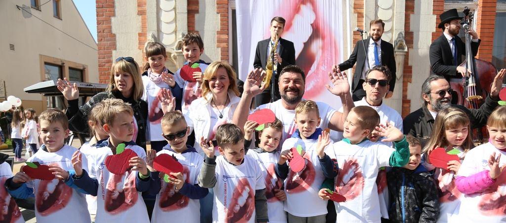 FOTO: Grad Čakovec prigodno obilježio 'Dan zdravog osmijeha'