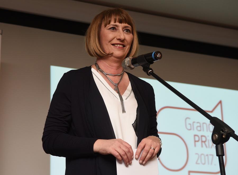 Daria Mateljak, predsjednica žirija nagrade Grand PRix.