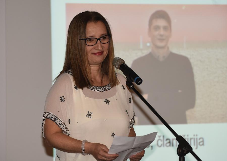 Aleksandra Kolarić, predsjednica HUOJ-a