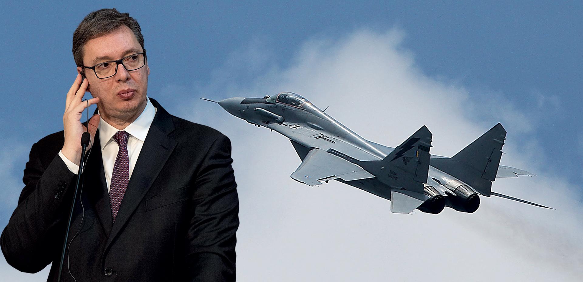 Vučić uoči izbora širi mit o moćnoj srpskoj vojsci i vojnoj industriji