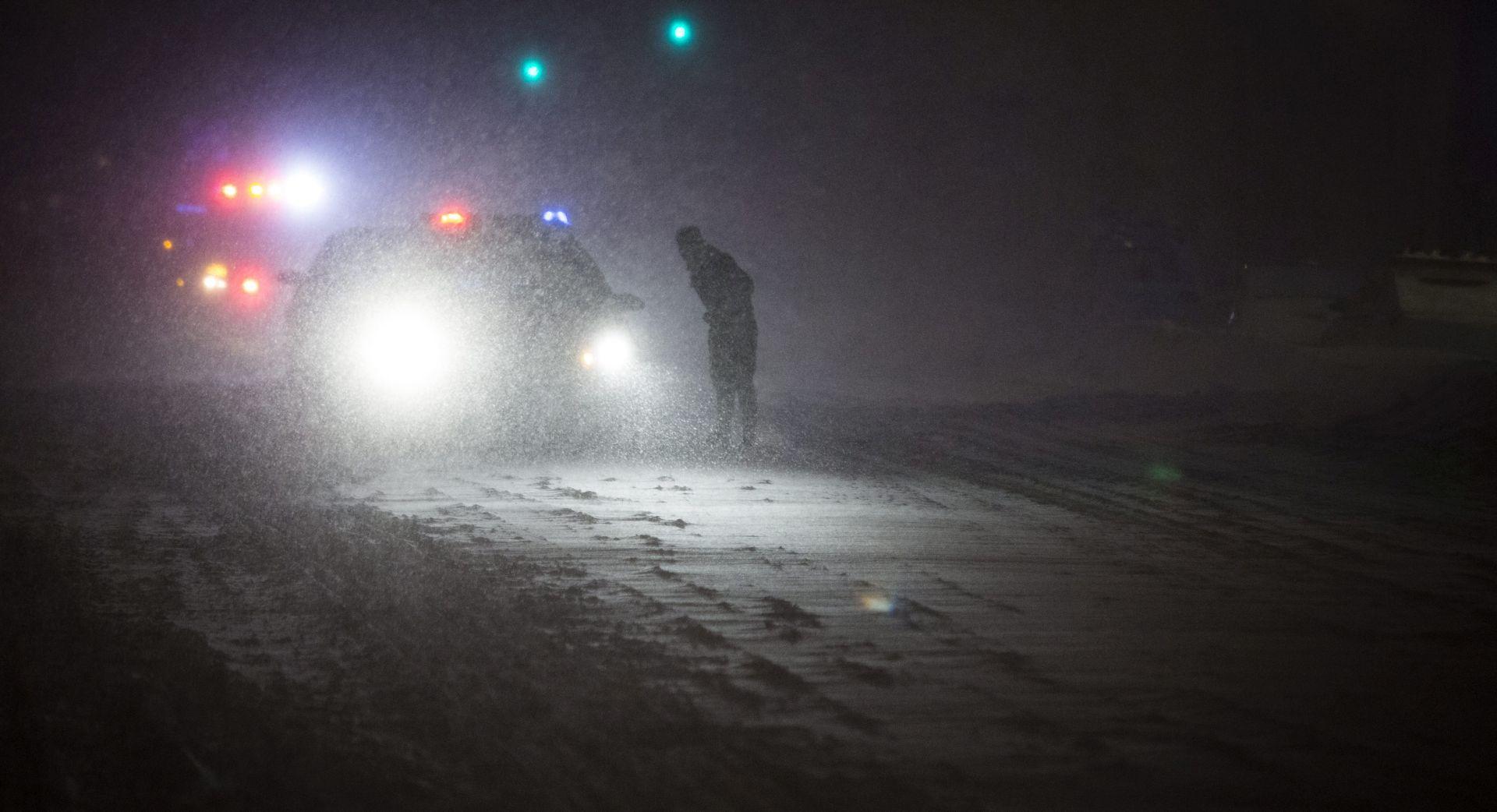 Silovita snježna oluja pogodila sjeveroistok Sjedinjenih Država